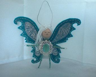 Teal Gem Fairy
