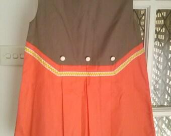 Vintage 60s/70s Brand New Babywear girls dress size 24