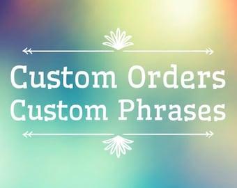 Custom Cross Stitch & Embroidery