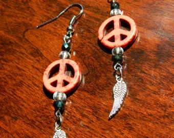 Channel Peace Earrings