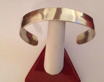 S. Kirk & Son Sterling Silver Cuff Bracelet...Great for Monogram!