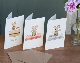 Thank-You set of five cards
