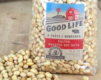 Salted & Roasted Nebraska Soy Nuts - BNEB5008