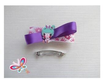 Home Crown/purple hair girl