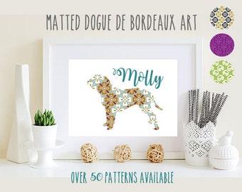 Dogue De Bordeaux Art