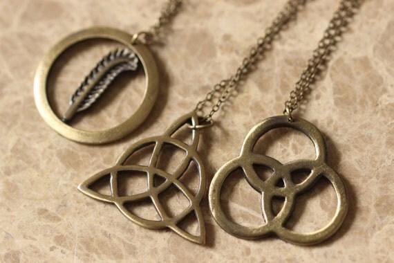 antique jewelry the led zeppelin necklace 3pcs set gift idea. Black Bedroom Furniture Sets. Home Design Ideas