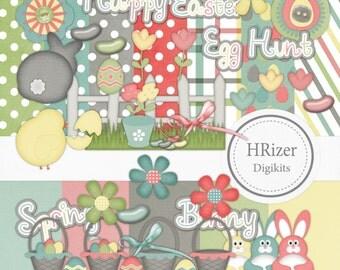 Easter Digital Scrapbook Kit