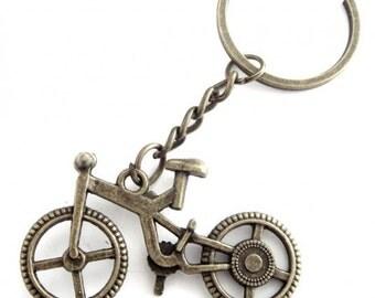 Bike Keychain.bronze keychain.Bicycle keychain bottle opener.Personalized Keychain.Bicycle Keychain.Sport Keychain.Cycling.Customized.Gift