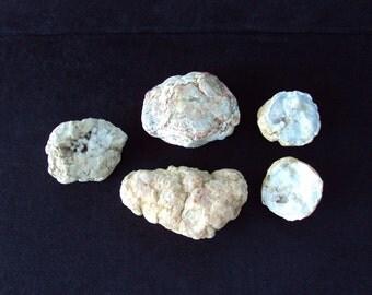 Set of 4 Geodes