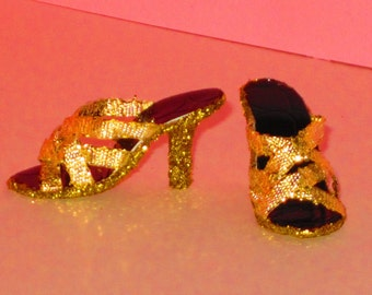 Tyler Wentworth GOLD WEB SHOES, Gene, Tyler friends doll Clothing & Accs