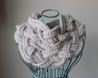 Goddess Scarf for Women - scarf, bib scarf, women scarf, necklace scarf, crochet scarf, custom scarf