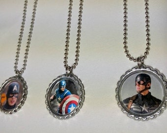 Comic Book Necklaces / Geek Gift