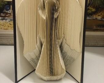 Angel Folded Book Art
