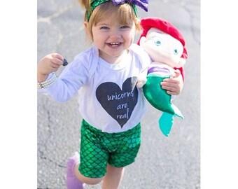 Little mermaid - disney -princess ariel - baby headband - preemie - adult size - disneyland - handmade