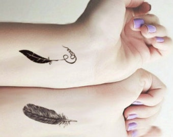 Feather and Quill - Fun & Cool Temporary Tattoos