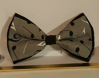 For the love of music bowtie