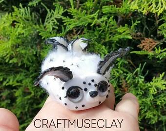 Kawaii Sea Bunny Polymer Clay Figure// Jorunna Parva//gifts for her//ocean//sealife//Free US shipping code FREESHIPUS