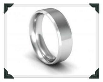 Platinum Wedding Ring  UK Hallmarked Platinum Ring Platinum Wedding Ring 18kt 18ct Platinum Wedding Ring Platinum Ring Platinum Wedding Band