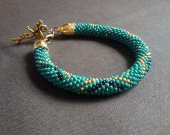 Beaded handmade bracelet