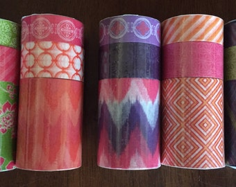 Brand New Make Market Alphabet Soup Washi Tape, 3 tapes per set, your choice from 5 different patterns