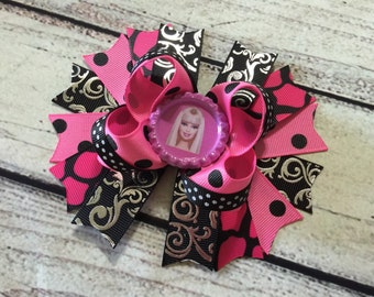 Barbie Hair Bows Barbie Boutique Bow Girls Hair Bow Barbie Boutique Hair Bows Princess Hair Bow Barbie Stacked Hair Bow