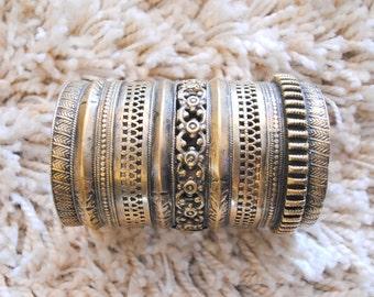 Kuchi Tribal Cuff Bracelet