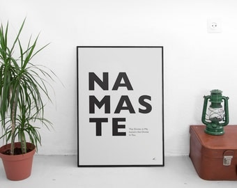 Namaste / Print