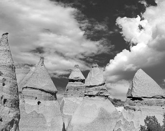 Tent Rocks 0466 bw
