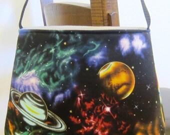 SALE Star Purse Space Purse Planets Purse Astronomy Bag Gothic Purse Geek Purse Space Planets Shoulder Bag Hippie Purse