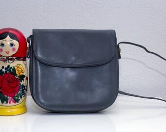 SALE grijs schoudertasje met goudkleurige details