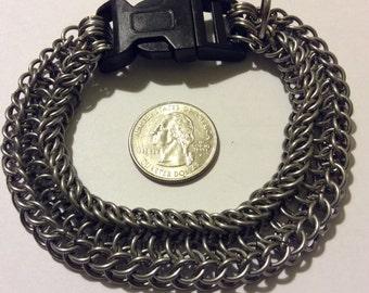 """10"""" Stainless Steel Bracelet/Dog Collar"""