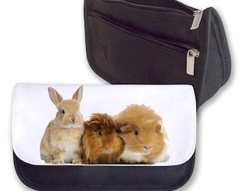 Bunny & Guinea pigs Pencil Case