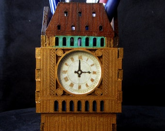 Pen organizer Big Ben, table organizer, Office desk organizer Big Ben