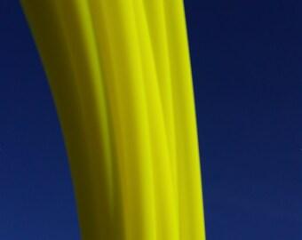 5/8 Polypro:UV Yellow Hula Hoop- Made to Order