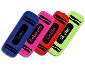 Neoprene Popsicle Sleeve, Freeze Pop Holder/Ice Pop Holder, Personalized Popsicle Holder