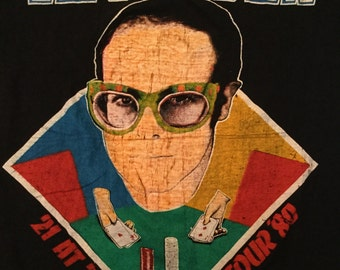 1980 Elton John Shirt from September 13, 1980 show in Central Park, New York City