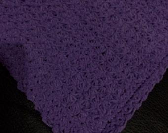 Baby Afghan, Purple