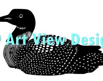 Pattern Loon Duck ©