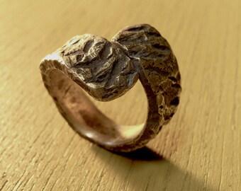 "Junk brass ring/Women's ""be rough"""
