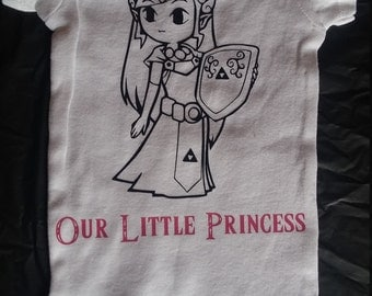 Our Little Princess (Zelda) Onesie