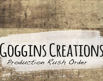 Rush Order Listing, Move your order to the front of production line,