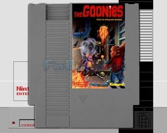 "SPECIAL ORDER! ""The Goonies"" Unreleased Nintendo NES Konami Arcade Platformer! Artwork #1!"