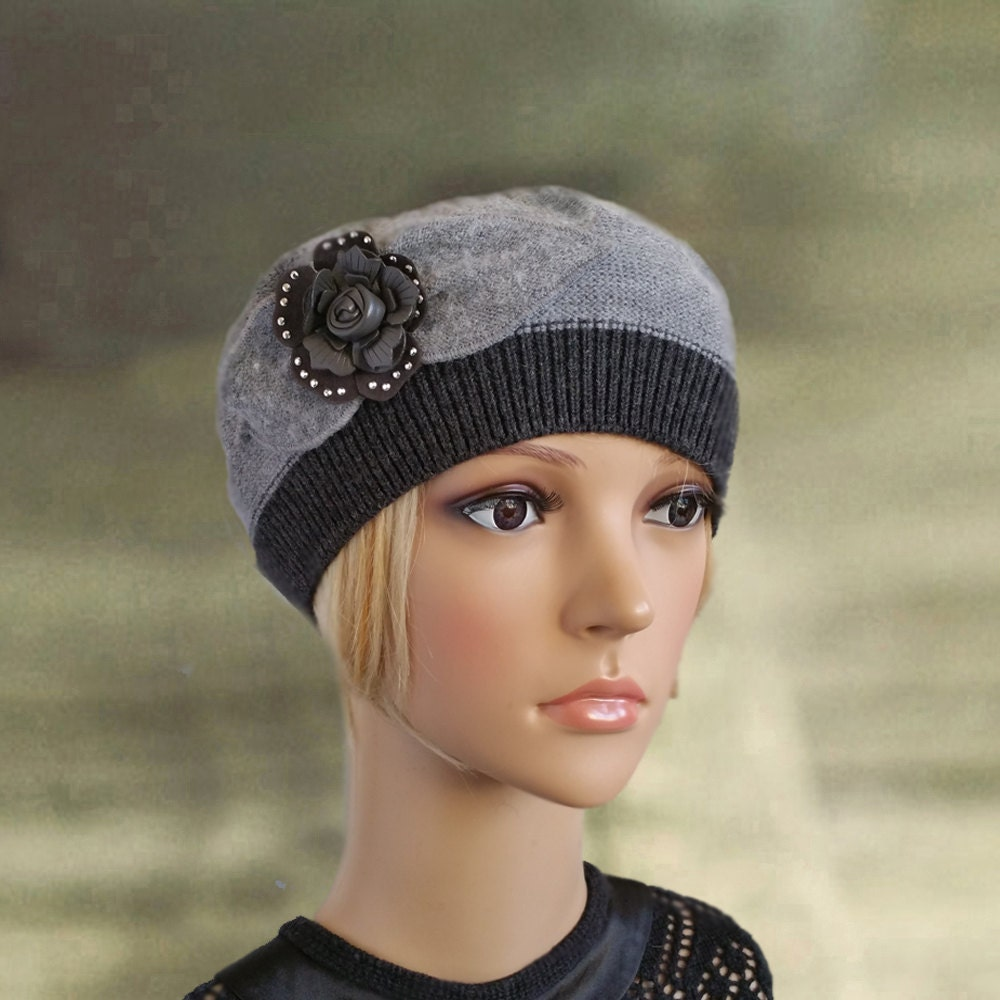 knit beret womens knit beanie s wool hat