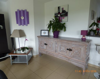 Restyled solid low buffet