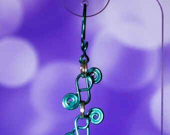 Spiral Link Earrings