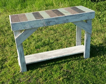 Shabby chic Entry way console