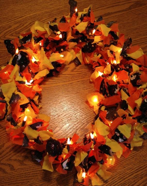 Lighted halloween garland strand for Halloween girlande