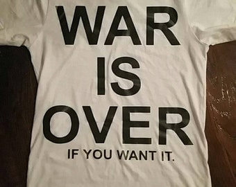 War is Over T