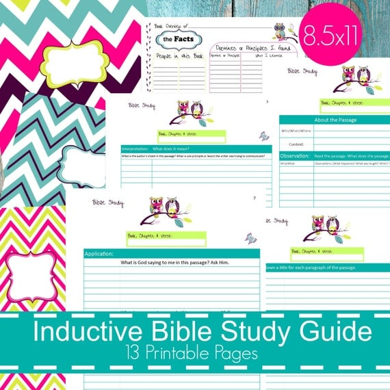 Peaceful image with regard to printable bible study guide