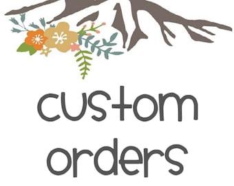 Customer Order